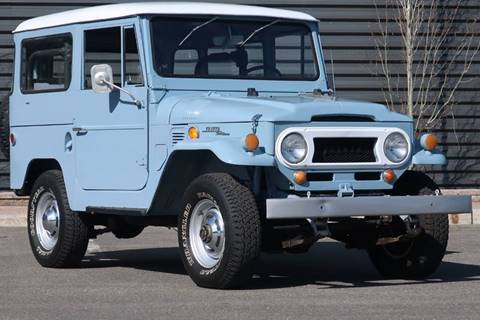1969 Toyota Land Cruiser for sale at Sun Valley Auto Sales in Hailey ID