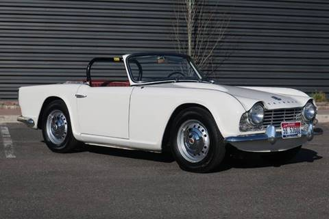 1963 Triumph TR4 for sale at Sun Valley Auto Sales in Hailey ID