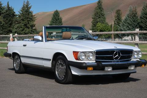 1989 Mercedes-Benz 560-Class for sale at Sun Valley Auto Sales in Hailey ID