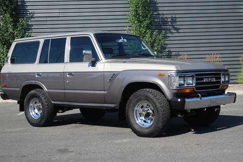 1989 Toyota Land Cruiser for sale at Sun Valley Auto Sales in Hailey ID