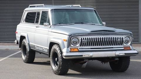 1976 Jeep Cherokee for sale at Sun Valley Auto Sales in Hailey ID