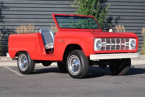 1966 Ford Bronco for sale at Sun Valley Auto Sales in Hailey ID