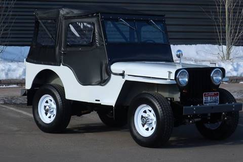 1946 Willys CJ 2A for sale at Sun Valley Auto Sales in Hailey ID
