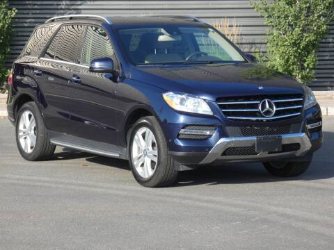 2015 Mercedes-Benz M-Class for sale at Sun Valley Auto Sales in Hailey ID