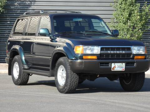 1994 Toyota Land Cruiser for sale at Sun Valley Auto Sales in Hailey ID