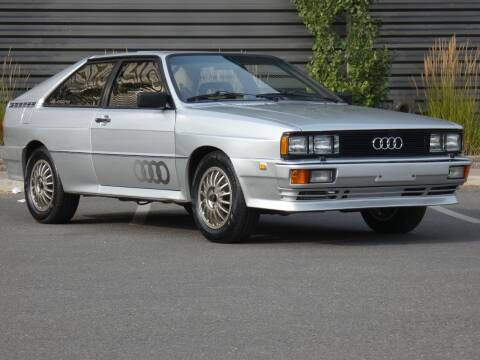 1981 Audi Quattro for sale at Sun Valley Auto Sales in Hailey ID