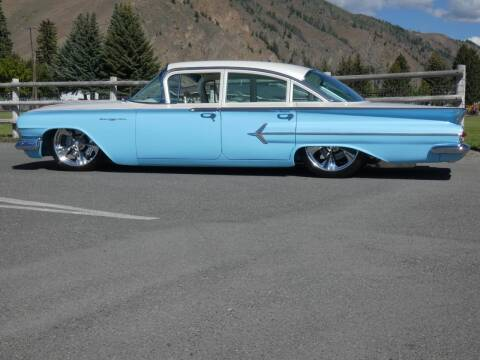 1960 Chevrolet Bel Air for sale at Sun Valley Auto Sales in Hailey ID