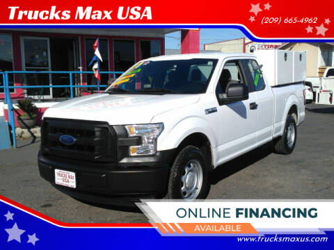 2017 Ford F-150 XL for sale at Trucks Max USA in Manteca CA