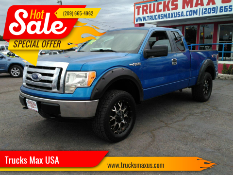 2012 Ford F-150 XLT for sale at Trucks Max USA in Manteca CA