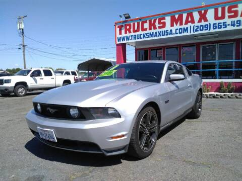 2011 Ford Mustang GT Premium for sale at Trucks Max USA in Manteca CA