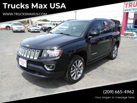 2016 Jeep Compass High Altitude for sale at Trucks Max USA in Manteca CA