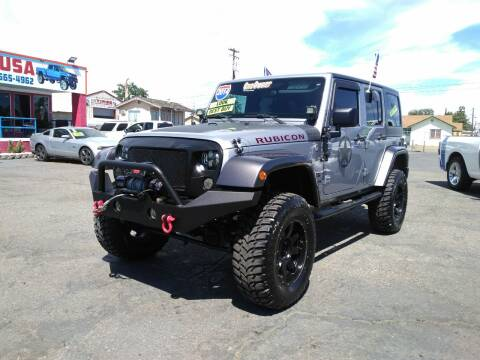 2014 Jeep Wrangler Unlimited Sport for sale at Trucks Max USA in Manteca CA