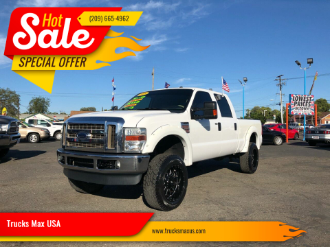 2009 Ford F-250 Super Duty Lariat for sale at Trucks Max USA in Manteca CA