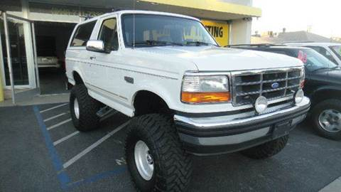 1995 Ford Bronco for sale at H1 Auto Group in Sacramento CA