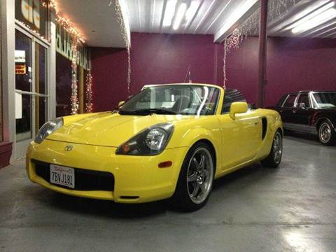 2002 Toyota MR2 Spyder for sale at H1 Auto Group in Sacramento CA