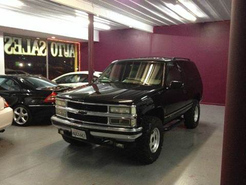 1996 Chevrolet Tahoe for sale at H1 Auto Group in Sacramento CA