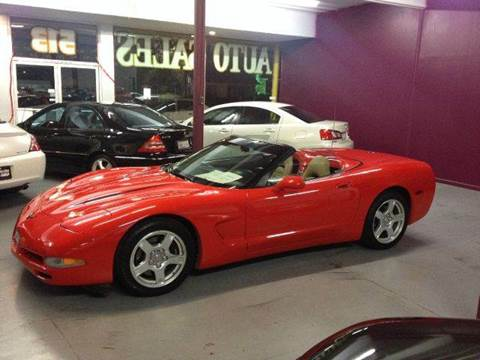 1998 Chevrolet Corvette for sale at H1 Auto Group in Sacramento CA