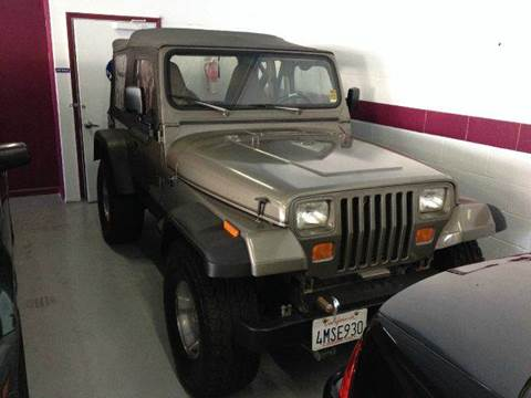 1990 Jeep Wrangler for sale at H1 Auto Group in Sacramento CA