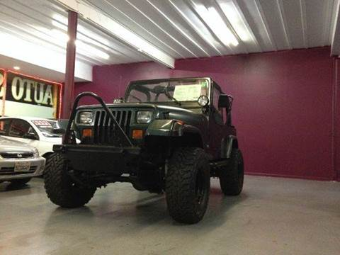 1994 Jeep Wrangler for sale at H1 Auto Group in Sacramento CA