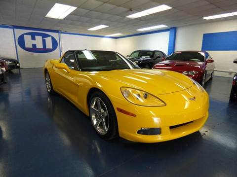 2005 Chevrolet Corvette for sale at H1 Auto Group in Sacramento CA