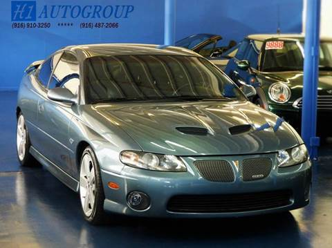 2005 Pontiac GTO for sale at H1 Auto Group in Sacramento CA