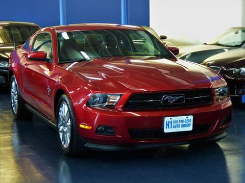 2012 Ford Mustang for sale at H1 Auto Group in Sacramento CA