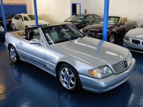 2002 Mercedes-Benz SL-Class for sale at H1 Auto Group in Sacramento CA