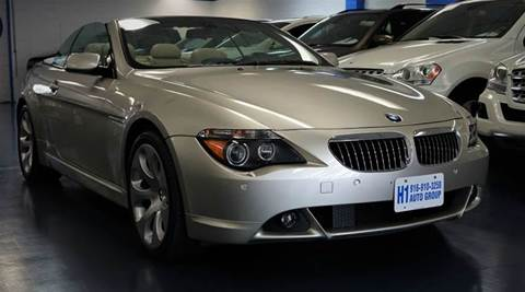 2007 BMW 6 Series for sale at H1 Auto Group in Sacramento CA