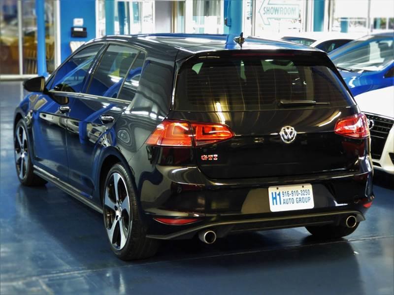 2015 Volkswagen Golf Gti Autobahn 4dr Hatchback 6m W Performance