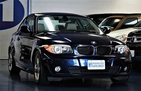 2012 BMW 1 Series for sale at H1 Auto Group in Sacramento CA