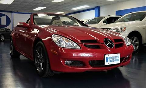 2007 Mercedes-Benz SLK for sale at H1 Auto Group in Sacramento CA