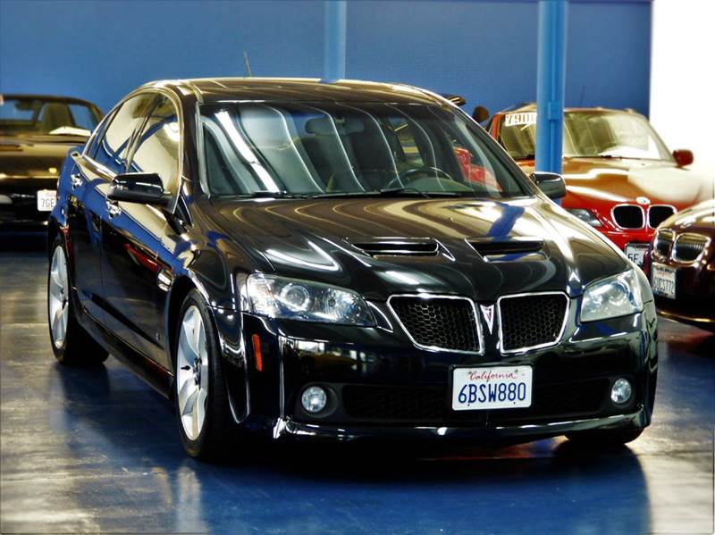 2008 Pontiac G8 Gt 4dr Sedan In Sacramento Ca H1 Auto Group