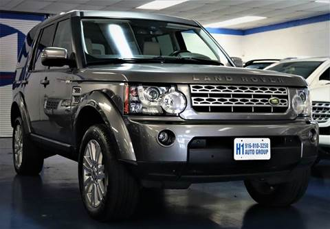 2010 Land Rover LR4 for sale at H1 Auto Group in Sacramento CA