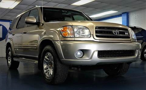 2004 Toyota Sequoia for sale at H1 Auto Group in Sacramento CA