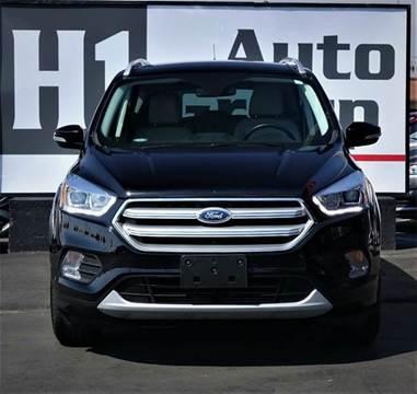 2017 Ford Escape for sale at H1 Auto Group in Sacramento CA