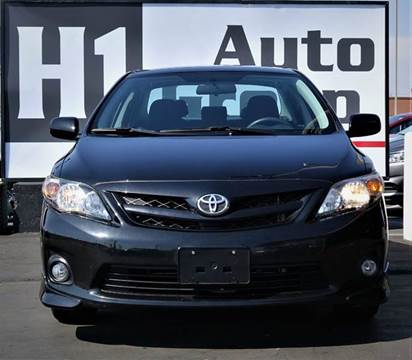 2011 Toyota Corolla for sale at H1 Auto Group in Sacramento CA