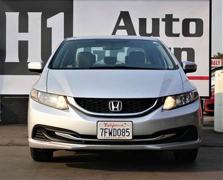 2014 Honda Civic for sale at H1 Auto Group in Sacramento CA