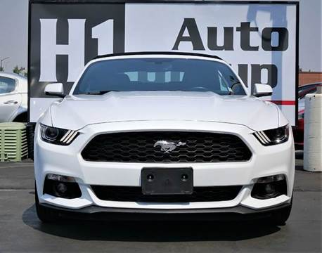 2017 Ford Mustang for sale at H1 Auto Group in Sacramento CA