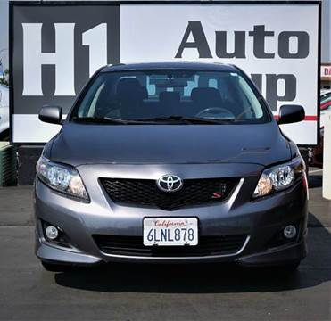2010 Toyota Corolla for sale at H1 Auto Group in Sacramento CA