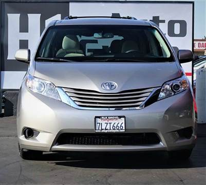 2015 Toyota Sienna for sale at H1 Auto Group in Sacramento CA