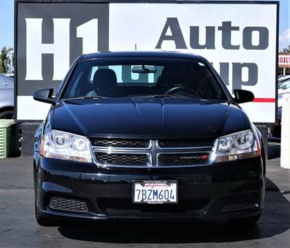 2014 Dodge Avenger for sale at H1 Auto Group in Sacramento CA