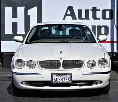 2004 Jaguar XJR for sale at H1 Auto Group in Sacramento CA