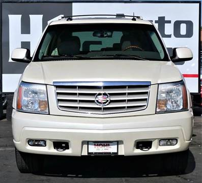 2003 Cadillac Escalade for sale at H1 Auto Group in Sacramento CA