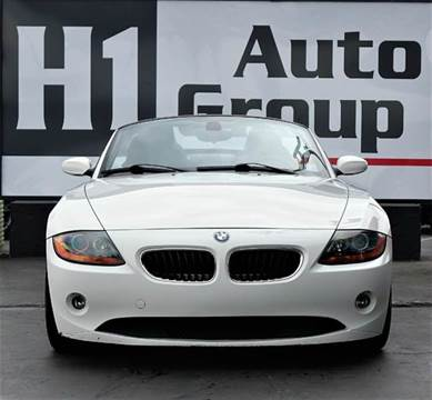 2004 BMW Z4 for sale at H1 Auto Group in Sacramento CA