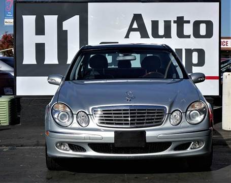 2006 Mercedes-Benz E-Class for sale at H1 Auto Group in Sacramento CA