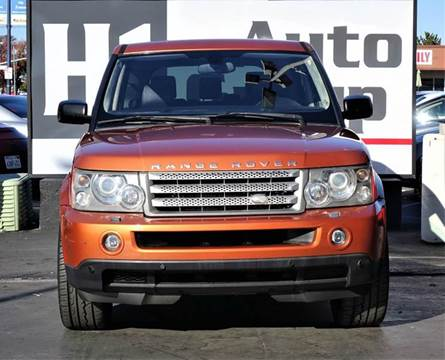 2006 Land Rover Range Rover Sport for sale at H1 Auto Group in Sacramento CA