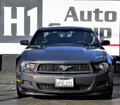 2011 Ford Mustang for sale at H1 Auto Group in Sacramento CA