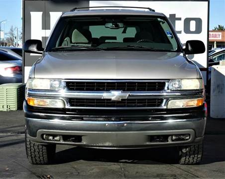 2004 Chevrolet Tahoe for sale at H1 Auto Group in Sacramento CA