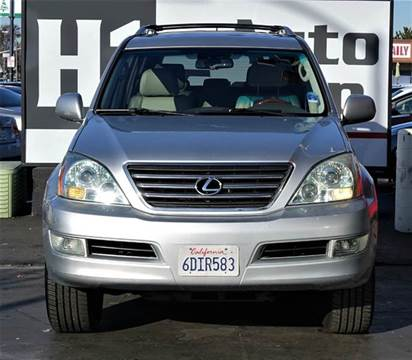 2008 Lexus GX 470 for sale at H1 Auto Group in Sacramento CA