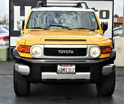 2007 Toyota FJ Cruiser for sale at H1 Auto Group in Sacramento CA